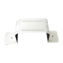 Abraçadeira U Alumínio Branco 27,5 x 3,7 x 0,11 cm para Calha Bella Calha
