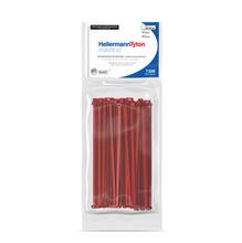 Abraçadeira Flexivel de Nylon 150x3,6mm Vermelho T30R Hellermann