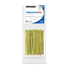 Abraçadeira Flexivel de Nylon 2,5mm Amarelo  Hellermann