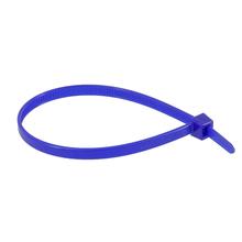 Abraçadeira Flexivel de Nylon 200x4,6mm Azul T50R Hellermann