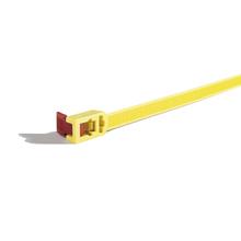 Abraçadeira Flexível Reutilizável Amarelo Hellermann