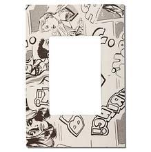 Acabamento para placa 4X2 3 mod comic Simon Play