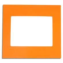 Acabamento para placa 4X4 6 mod laranja Simon Play