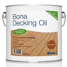 Acabamento para Pisos, Pergolados e Fachadas de Madeira Decking Oil 2,5L Bona