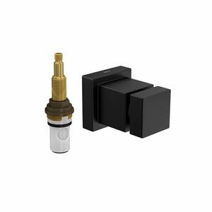 Acabamento para Registro Pequeno Cubo Black Matte 4916.BL86.PQ.MT Deca