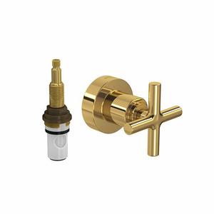Acabamento para Registro Pequeno Duna Classic Gold 4916.GL64.PQ Deca