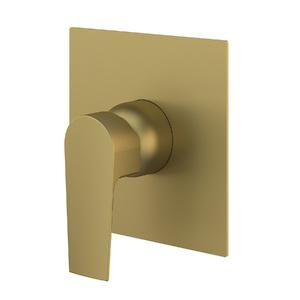 """Acabamento para Registro Monocomando para Ducha Quadrado Gold 3/4"""" Fani"""