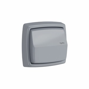 Acabamento para Válvula de Descarga Cinza Hydra Clean Color 4900.PC.CLN.CZ Deca