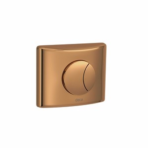 Acabamento para Válvula de Descarga Red Gold Hydra Duo 4900.GL.DUO.RD Deca