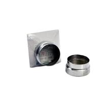 Adaptação para Aquecedor de Passagem a Gás 60mmx150mm Flextic