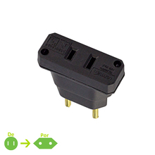 Adaptador 1tomadas  Preto Force Line