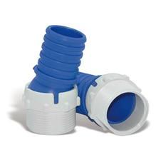 Adaptador Mangueira Oscilante Plástico 10x5cm Azul/Branco CMB Aqua