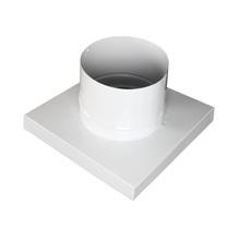 """Adaptador para Churrasqueira 8"""" Galvanizado Branco 31x31x31 Artmill"""