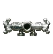 Adaptador para Máquina Lava e Seca Metal Cromada Forusi