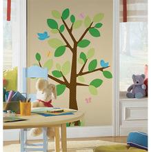 Adesivo Decorativo Árvore Colorido 122x173cm