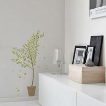 Adesivo Decorativo Bambu Verde 58,5x120cm
