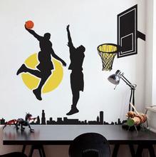 Adesivo Decorativo Basketball Preto 60x131cm