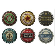 Adesivo Decorativo Beer Caps Colorido 60x40cm