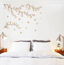 Adesivo Decorativo Bouganvilea Laranja 120x32,4cm