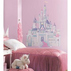 Adesivo Decorativo Castelo Colorido 81x107cm