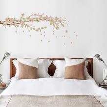 Adesivo Decorativo Cerejeira Rosa 162,4x58,5cm