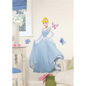 Adesivo Decorativo Cinderella Colorido 66,5x102cm