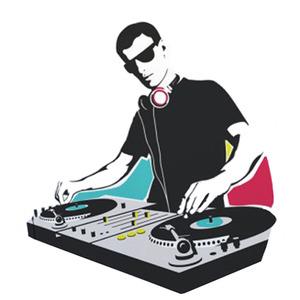 Adesivo Decorativo DJ Preto 98x131cm