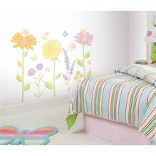 Adesivo Decorativo Jardim Colorido 36x89cm