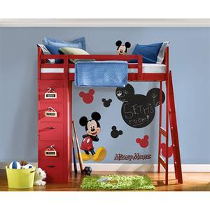 Adesivo Decorativo Lousa Mickey Colorido 40x56cm