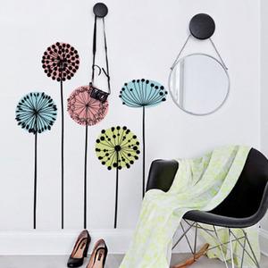 Adesivo Decorativo Movimento Colorido 32,4x131cm