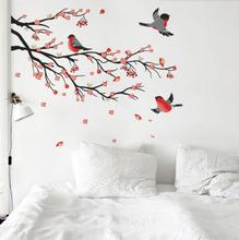 Adesivo Decorativo Natureza Vermelho 120x60cm