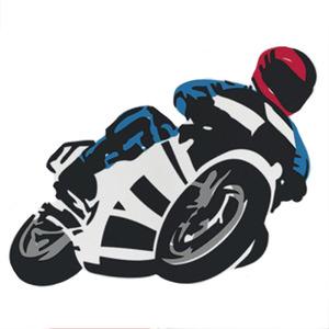 Adesivo Decorativo Racing Preto 131x60cm