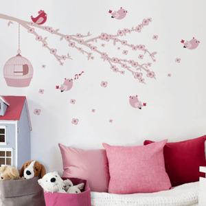 Adesivo Decorativo Sonho Encantado Rosa 163x58,5cm