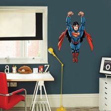 Adesivo Decorativo Super Homem Azul 60x90cm