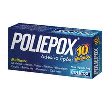 Adesivo Epóxi 10 Minutos Polipox 24g
