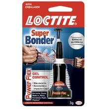 Adesivo Instantâneo Super Bonder Gel Henkel 3g