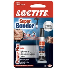 Adesivo Instantâno Super Bonder Flex Gel Henkel 2g