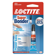 Adesivo Instantâno Super Bonder Power Easy Henkel 3g