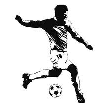 Adesivo Jogador Futebol 84,46X106,68cm SD Sugestões