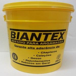 Adesivo Para Argamassa e Chapisco 18 kg Biantex