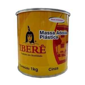 Adesivo Plástico Cinza Ibere 1kg
