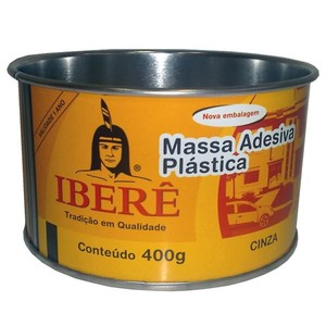 Adesivo Plástico Cinza Ibere 400g