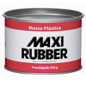 Adesivo Plástico Maxi Rubber Cinza 500g