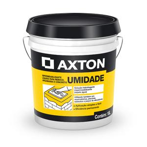 Aditivo Líquido Axton Umidade Branco Balde de 18 Litros