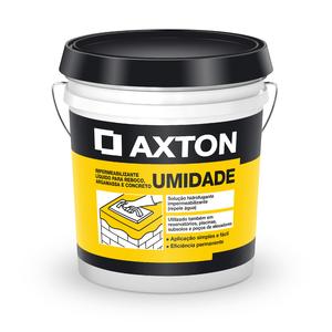 Aditivo Líquido Axton Umidade Branco Balde de 1 Litro