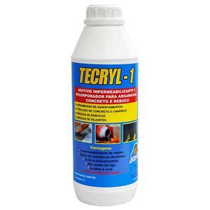 Aditivo Plastificante Tecryl 1 900ml Tecryl