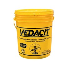 Aditivo Redutor Vedacit Pastoso para Concreto e Argamassa Branca 18Kg Vedacit