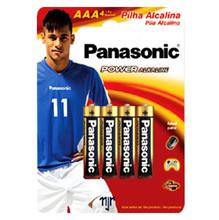 Alcalina Palito  AAA  c/ 4 - Embalagem do Neymar Jr.