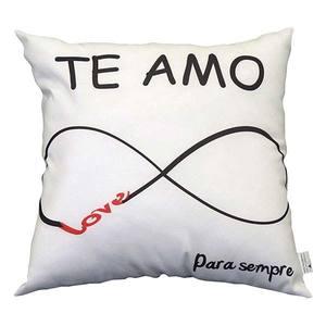 Almofada Amor Eterno 40x40cm Combinata