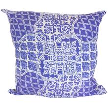 Almofada Azulejo Azul 45x45cm